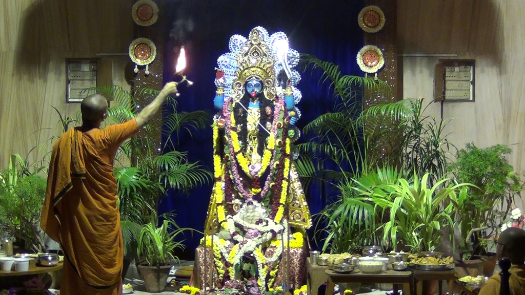 Kali Puja in Sri Ramakrishna Math