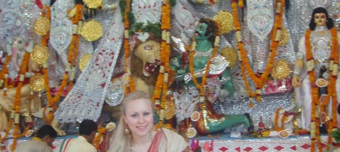 GK 2 Durga Puja Delhi